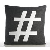 """#"" Decorative Pillow"