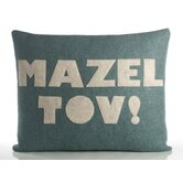 """Mazel Tov!"" Decorative Pillow"