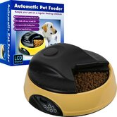 Paw 4 Meal Automatic LCD Pet Feeder with Voice Recorder