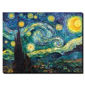 Starry Night by Vincent Van Gogh Canvas Art