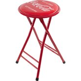 Coca Cola Delicious Refreshing Folding Stool