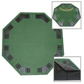 Poker and Blackjack Table Top with Case