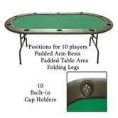 Set of 10 - Full Size Texas Hold'em Poker Tables