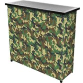 Hunt Camo 2 Shelf Portable Bar with Case