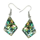 Abalone Shell Dangle Earrings