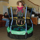 Trampoline Lily Pad Adventure Bouncer