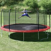 17' x15' Oval Trampoline with Safety Enclosure