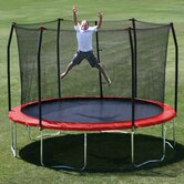 12' Round Trampoline with Safety Enclosure