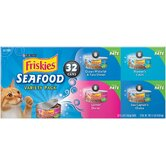 Seafood Wet Cat Food Variety Pack (5.5-oz can, case of 32)