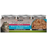 Sole and Vegetable Entree Wet Cat Food (3-oz, case of 24)
