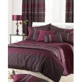 Bellagio 2 Piece Duvet Set in Damson