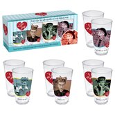 I Love Lucy 4 Piece Pint Glass Set