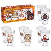 Bacon 4 Piece Pint Glass Set