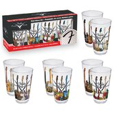 Fender 4 Piece Pint Glass Set