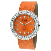 Women's TK618 Leather Slap  Watch