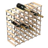 RTA Wineracks 42 Bottle Pine / Galvanised Steel Kit