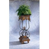 Masterpiece Antique Metal End Table
