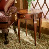Plantation Cherry Circular End Table
