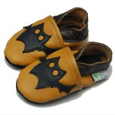 Halloween Bat Soft Sole Leather Baby Shoes