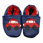 Car Soft Sole Leather Baby Shoes