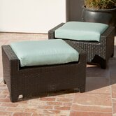 Bliss Club Ottoman with Cushion (Set of 2)
