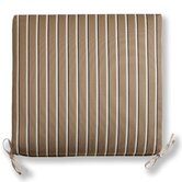 Sunbrella Patio Striped Chair Cushion
