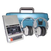 LCP Early Learning Listening Center with Two HA-5 Headphones