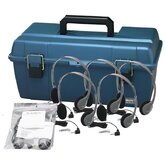 Personal Headset Lab Pack with Carry Case