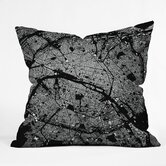 CityFabric Inc Polyester Paris Indoor/Outdoor Throw Pillow