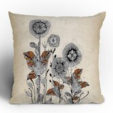 Iveta Abolina Floral 3 Throw Pillow