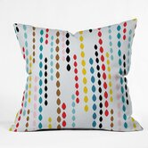 Khristian A Howell Polyester Nolita Drops Indoor/Outdoor Throw Pillow