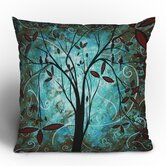 Madart Inc. Romantic Evening Throw Pillow