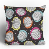 Rachael Taylor Scribble Shells Throw Pillow