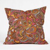 Valentina Ramos Polyester Spring Paisley Indoor/Outdoor Throw Pillow