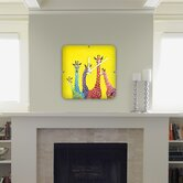 Clara Nilles Jellybean Giraffes Custom Clock