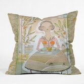 Cori Dantini Polyester Always Thoughtful Indoor/Outdoor Throw Pillow