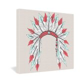 Wesley Bird Dressy Gallery Wrapped Canvas