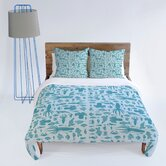 Jennifer Denty Sea Creatures Duvet Cover Collection