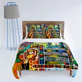Robin Faye Gates Musical Chairs Duvet Cover Collection