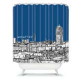 Bird Ave Ann Arbor Shower Curtain