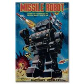 Missile Robot Canvas Wall Art
