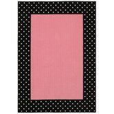 Young Attitudes Opposites Pink Bubble Gum Kids Rug