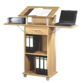 Power Lectern Desk