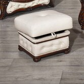 Christina Leather Footstool