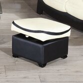 Bella Leather Footstool