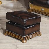 Figaro Leather Footstool