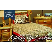 Giddy Up Cowboy Bedspread Collection