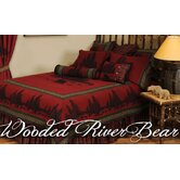Wooded River Bear Bedspread Collection