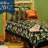 Green Camo Bedspread Collection