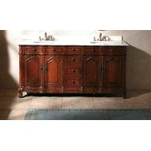 Merryton 72&quot; Double Bathroom Vanity